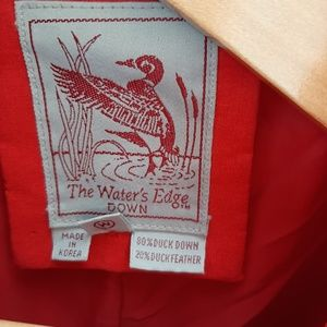 The Waters Edge Jackets & Coats - The Water's Edge long duck down puffer coat